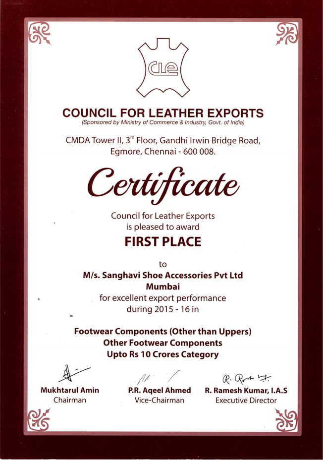 Council for Leather Exports